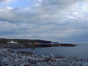 Doolin harbour, County Clare, evening.jpg