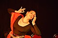 Dorothy Bhattacharya Dancing With Rabindra Sangeet - Sriniketan - Birbhum - 2017-10-21 5148.JPG