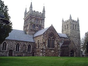 Burial places of British royalty - Wimborne Minster