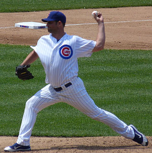 Doug Davis (pitcher) - Davis with the Chicago Cubs