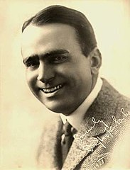 Douglas Fairbanks w roku 1921