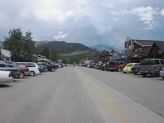 Grand Lake, Colorado - Downtown Grand Lake in summer