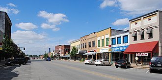 Stuttgart, Arkansas - Downtown Stuttgart