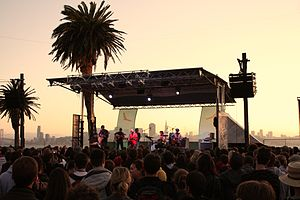 Treasure Island Music Festival - Image: Dr Dog Treasure Island Music Festival