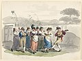 "Drawing, ""Saltarello Romano,"" Dancing Peasants In The Neighborhood Of Rome, 1807–08 (CH 18329619).jpg"