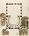 Drawing, Ground Plan and Elevations of Theater Boxes, Probably for the Teatro del Versaro (later Morlacchi), Perugia, Italy, 1778 (CH 18355915).jpg