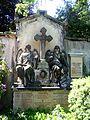 Dresden Innerer Neustädter Friedhof Grab Gustav Friedrich Haenel.JPG