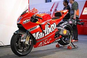 Ducati Desmosedici - Casey Stoner's Ducati Desmosedici GP8