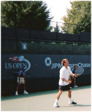 Dudi Sela - Dudi Sela at the 2003 U.S. Open