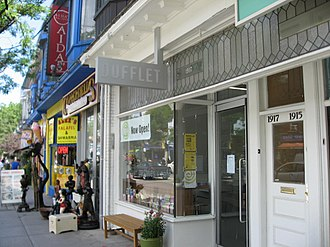 The Beaches - The Beaches is characterized by a large number of independent boutiques along the neighbourhood's portion of Queen Street East.