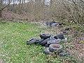 Dumped tyres - geograph.org.uk - 442934.jpg