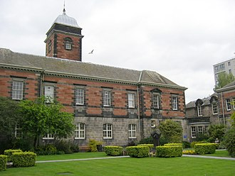 University of Dundee - The Harris Building on the Geddes Quadrangle