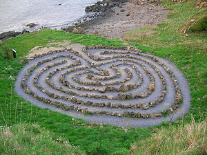 Dunure - The Dunure labyrinth