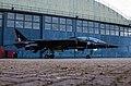 EGWC - Sepecat Jaguar T2A - Royal Air Force - XX141 T (40941802080).jpg