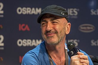 San Marino in the Eurovision Song Contest 2016 - Serhat during a press meet and greet