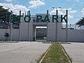 ETO Park stadium, North gate, 2018 Győr.jpg