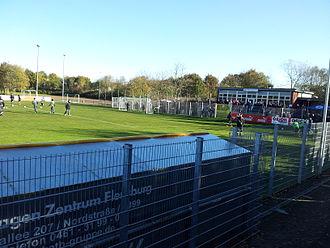 SC Weiche Flensburg 08 - Manfred-Werner-Stadion, home ground of Weiche Flensburg.