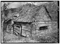 EXTERIOR, SOUTHWEST VIEW - Junglebrook Cabin, Airport Road, Gatlinburg, Sevier County, TN HABS TENN,78-GAT.V,2A-1.tif