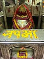Early Morning Just before Aarti time Temple inside decorative pic-5 with Goddess Maa Kalka Ji.jpg