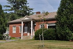 Blake Memorial Library, East Corinth village