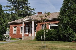 Corinth, Vermont - Blake Memorial Library, East Corinth village