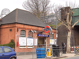 East Acton tube station - Image: East Acton Tube Station
