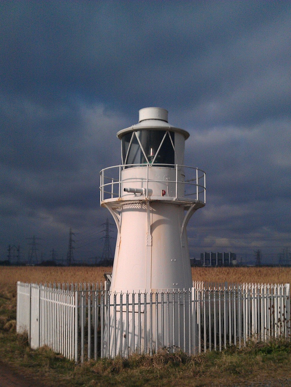 East Usk Lighthouse 2012-02-12 Crop