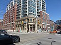 East side of the intersection of King and Sherbourne, 2014 04 06 (1).jpg