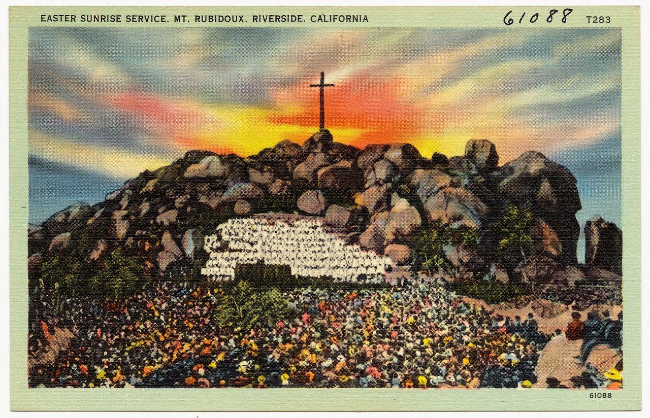 File:Easter Sunrise Service, Mt. Rubidoux, Riverside ... | 1280 x 824 jpeg 394kB