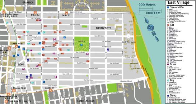 East Village Map Manhattan/East Village – Travel guide at Wikivoyage East Village Map