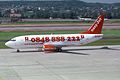 EasyJet Airline Boeing 737-3Q8 HB-IIE (27931100330).jpg