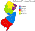 Ecclesiastical Province of Newark map.png