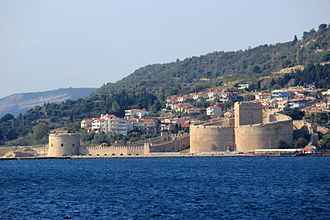 Eceabat - Kilitbahir Castle built by Mehmed II Fatih in 1452