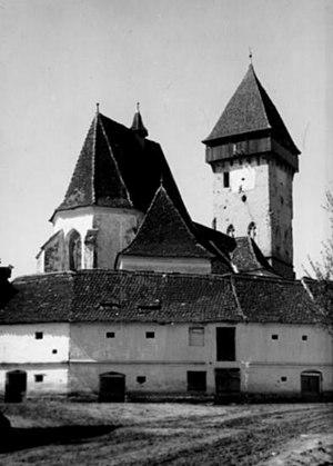 Ațel - Fortified church of Ațel