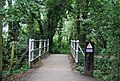 Eden Valley Path crosses a small bridge - geograph.org.uk - 2156236.jpg