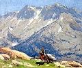 Edgar Payne Edgar Payne Edgar Payne A Rider with Packhorses in the Sierra.jpg