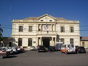 "Central Northern Railway - The Tucumán station building, also known as ""El Bajo""."