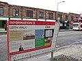 Edinburgh Trams project information board in Leith Walk March 2010.jpg