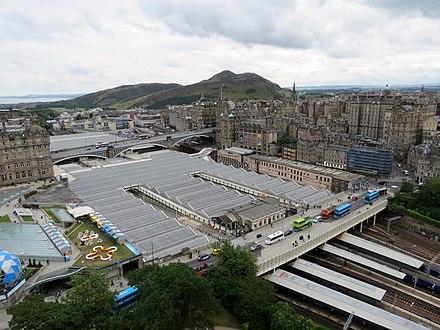 Edinburgh Waverley Railway Station Wikiwand