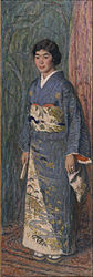 Edmond Aman-Jean: Portrait of a Japanese Woman (Mrs. Kuroki)