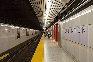 Eglinton station Toronto subway station