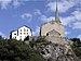 English: The Old Raron Church where the German...