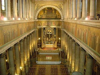 Saint-Vincent-de-Paul, Paris - The nave and apse from the west end tribune