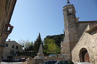 Pujaut Commune in Occitanie, France