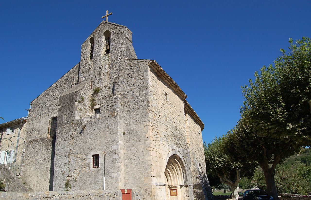 Eglise de St Maurice d'Ibie.JPG