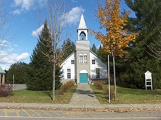 Brébeuf, Quebec - Image: Eglise de brebeuf quebec