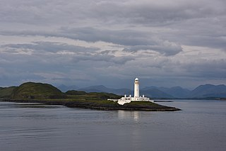 Eilean Musdile an islet to the south west of Lismore in the Inner Hebrides.