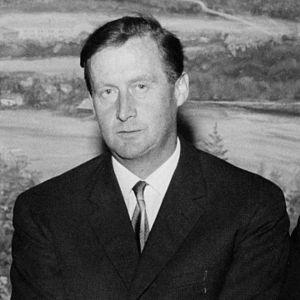 Einar Hole Moxnes - Einar Moxnes in a political debate, 1965