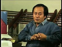 Eka Budianta in Lontar Foundation film on Suman Hs (02.21).jpg