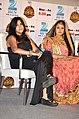 Ekta Kapoor, Paridhi Sharma at 'Jodha Akbar' launch.jpg